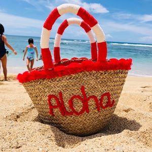 NWT Red Aloha Bag